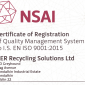 EN ISO 9001:2015 reissued in July 2019